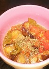 夏野菜のバルサミコマリネ