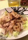 根菜と豚こまのポリポリ丼