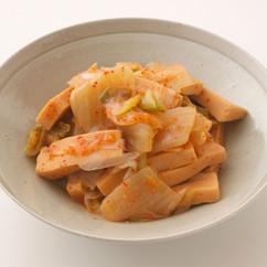 高野豆腐とキムチの煮込み