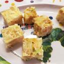 離乳食☆電子レンジで手づかみ納豆卵ご飯