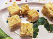 離乳食☆電子レンジで手づかみ納豆卵ご飯の写真