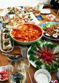 韓国料理ホームパーティー♪