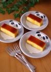 HMで、ココナッツミルクのプリンケーキ☆