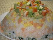 ☆パーティーに☆可愛いデコレーション寿司の写真