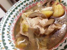 炊飯器で簡単柔らか!鶏胸肉のスープ