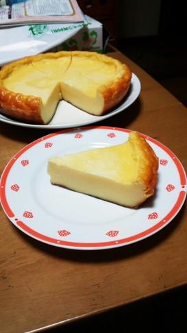 ずぼらな炊飯器チーズケーキ( ´∀`)