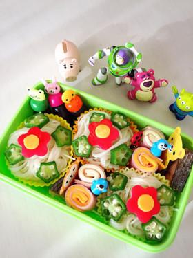 幼稚園簡単可愛いお弁当♪そうめん
