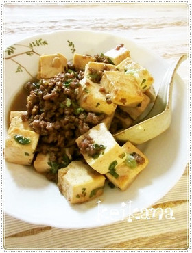 焼き肉のたれで超簡単☆そぼろ豆腐♪