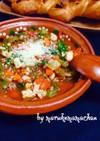 雑穀豆入❤️食べる野菜トマトスープ