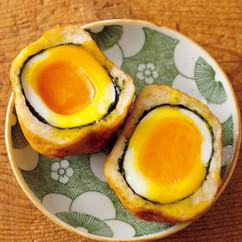 半熟卵のさつま揚げ