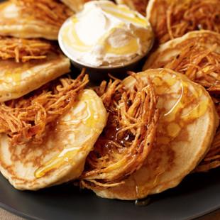 パンケーキ&ハッシュブラウン
