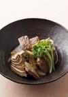 かつおなまりと焼き豆腐の煮物