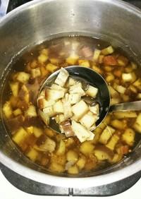 残飯de犬ごはん なすの煮干し汁煮