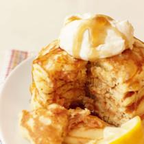 サーモンパンケーキ