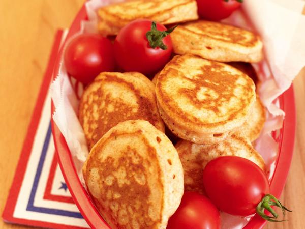 トマトスープパンケーキ