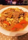 豚と豆腐の鯛味噌あんかけヽ( ´¬`)ノ