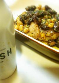 鶏もも肉とお豆のSOYSH煮込み☆