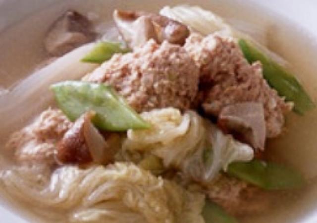 肉団子と白菜のスープ☆