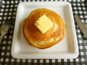 卵なし♡ふわふわもっちりなパンケーキ