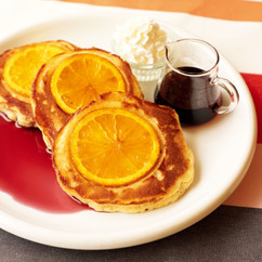 オレンジホットケーキ
