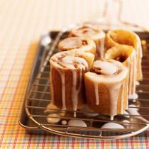 シナモンロールホットケーキ