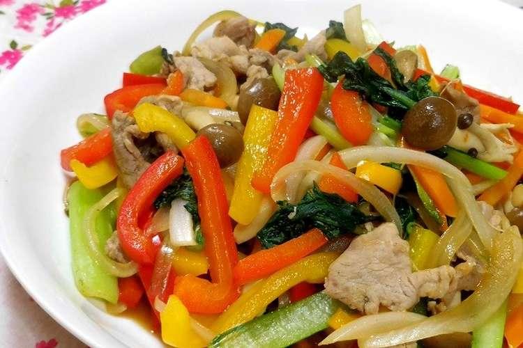 炒め オイスター ソース 野菜
