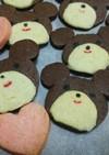簡単♪くまちゃん♡アイスボックスクッキー