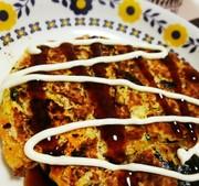 ✾おからパウダーと長芋のお好み焼き✾の写真