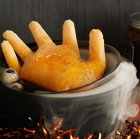 ハロウィン恐怖デザート・魔女の手入り鍋