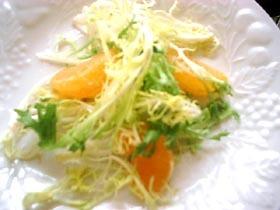 Clementinesのサラダ