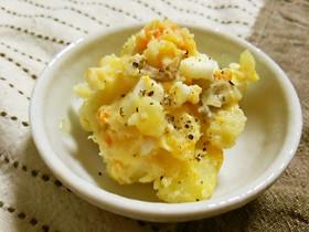 包丁もコンロもなし♡卵とポテトのサラダ