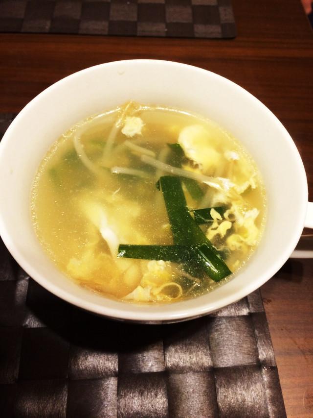 簡単!ニラたまスープ