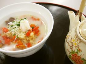えびと鶏出汁のタカエビ丸ごとホワイト茶漬