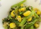 青菜とじゃこのサラダ