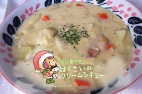 冬に食べたい白菜のクリームシチュー