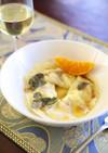 ギョウザの皮で野菜の洋風ラヴィオリ