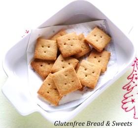 サクサク♪オイルできなこの米粉クッキー