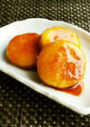 粉豆腐とさつま芋でモチモチ☆甘辛団子