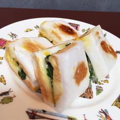 簡単♪はんぺんのしそチーズはさみ焼き