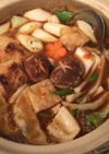 中華味のお鍋♡麻婆餃子鍋  鍋つゆ