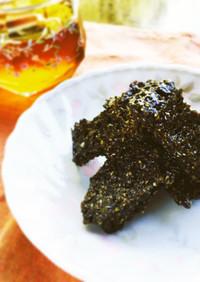 黒ゴマのフロランタン風クッキー