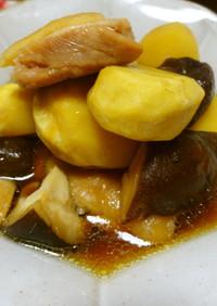 鶏と栗のほっこり煮