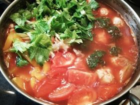 ダイエット用トマト鍋