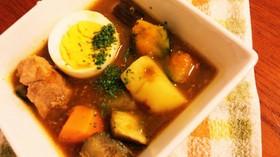 炊飯器でカレースープ