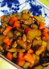 鶏と根菜の煮物