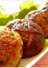 ✿柚子胡椒風味 しいたけの肉詰め焼き✿