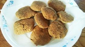 便秘解消  砂糖不使用米ぬかクッキー ♪