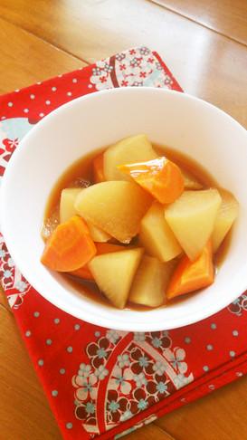 レンジで簡単☆大根の煮物。