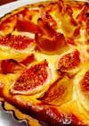 柿とイチジクのヨーグルトタルト