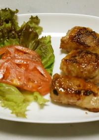 肉巻き豆腐(こってりバーベキューソース)